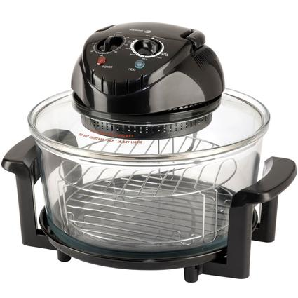 Halogen Tabletop Oven - Black
