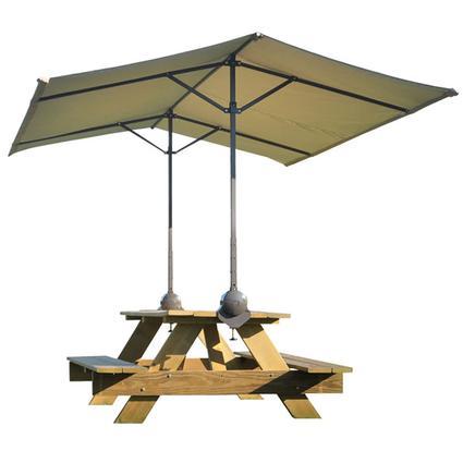 ShadeLogic Quick Clamp Canopy Tilt-Mount