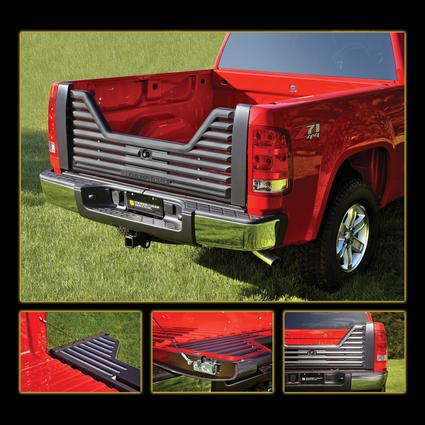 Louvered Tailgate-Dodge 10-15 1500, 2500 & 3500