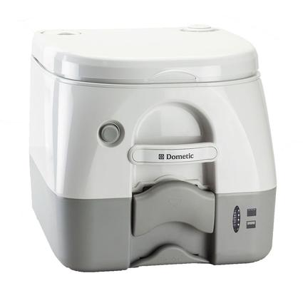Dometic Portable RV/Marine Toilet - 2.6 Gallon, Gray