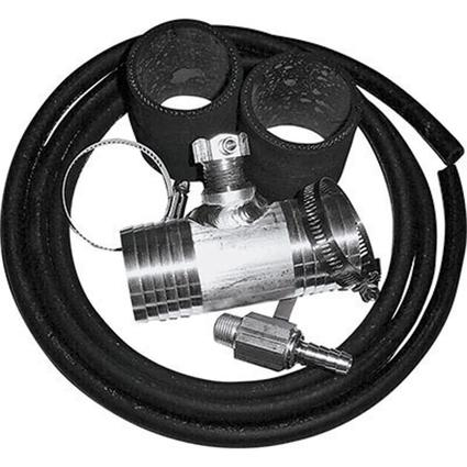 Diesel Install Kit for Auxiliary and Transfer Fuel Tanks, Fits Chevy and GMC Trucks up thru 2010 with 2 fuel fill hoses