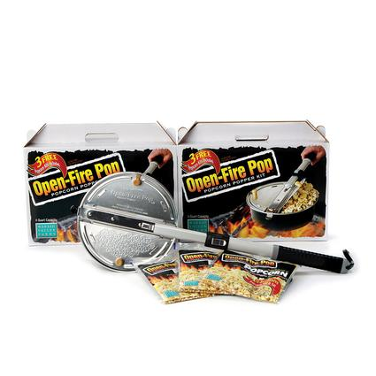 Open-Fire Pop Popcorn Popper