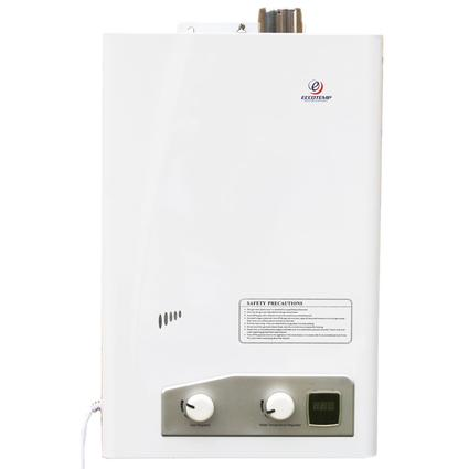 EccoTemp FVI12-LP 3.4 GPM LP Indoor Forced Vent Tankless Water Heater