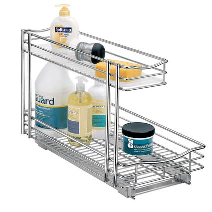 Roll-Out Undersink Drawer, 11
