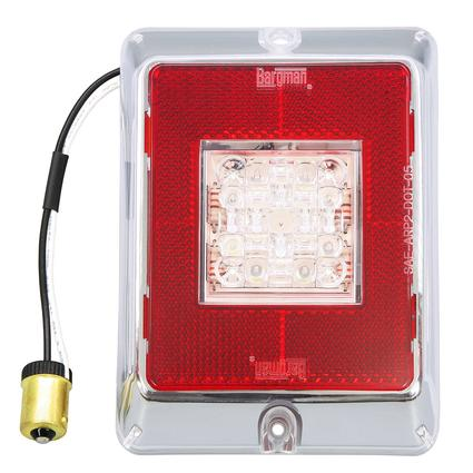 LED Upgrade Kits for #84/#85/#86 Series Tail Lights- LED Backup Light Lens Module, Red Reflex with Clear Center