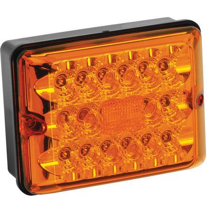 LED Single Tail Lights #86 Series- Amber