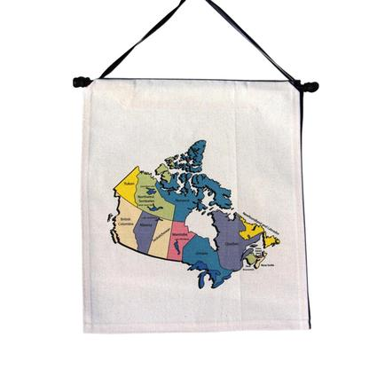 Travel Keepsake Map- Canada