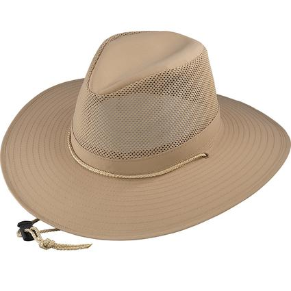 Aussie Crushable Hat- Khaki, Large