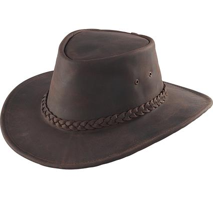 Australian Hat- Brown, Large