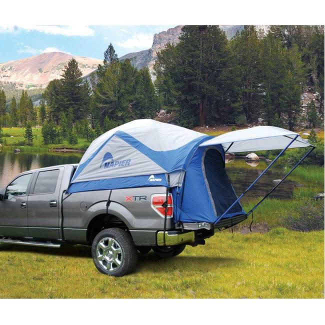 Image Sportz Truck Tent Full Size Long Bed. To Enlarge the image click .  sc 1 st  C&ing World & Sportz Truck Tent Full Size Long Bed - Napier Enterprises 57011 ...