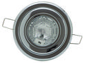 Chrome Finish Overhead Halogen Light, 3.5