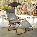 Large Mesh Canopy Zero Gravity Recliner