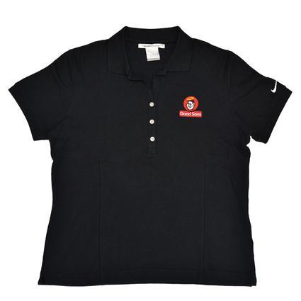 Nike Golf Pique Knit Ladies' Sport Shirt with Good Sam Logo- XX Large