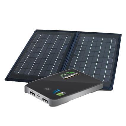 6 Watt Folding Solar Panel with Power Bank 5.0