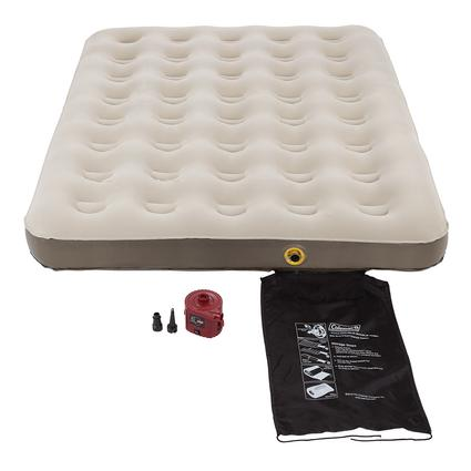Single High QuickBed Air Bed 4D Battery Pump Combo - Full
