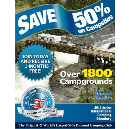 Passport America - Introductory Rate for new members only!