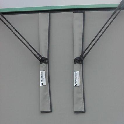 Sunguard Wiper Savers, 2-Pack - Gray