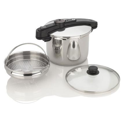 Chef Pressure Cooker - 6/8/10/ Quart