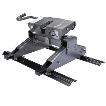 Husky 26,000 lb. 5th Wheel Hitch with EZ Roller for Short Bed Trucks