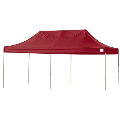 10X20 Pro Series Straight Leg Canopy - Red