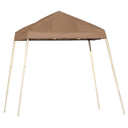 8X8 Sports Series Slant Leg Canopy - Desert Bronze