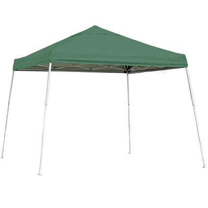 10X10 Sports Series Slant Leg Canopy - Green