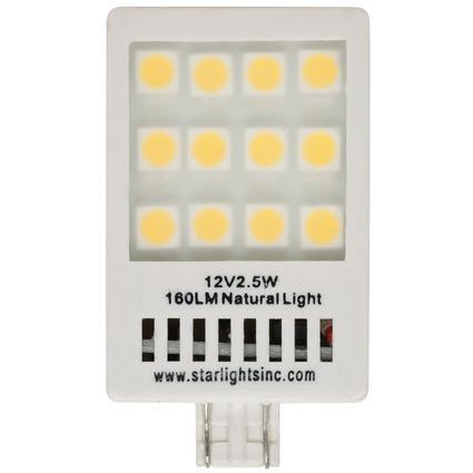 Starlights Revolution 921-160 NL LED Replacement Light Bulb - White