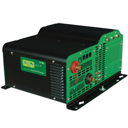 Nature Power Sine Wave Inverter/Chargers - 3000 Watt with 150 Amp Battery Charger and Remote Control Panel