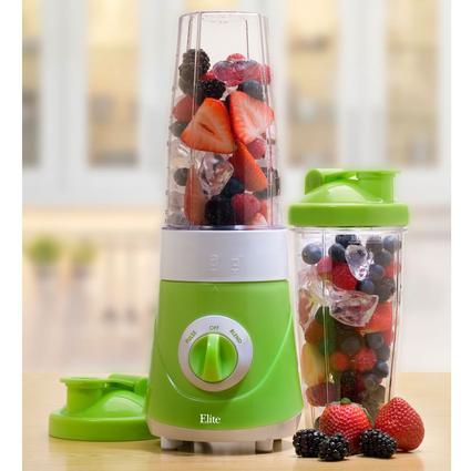 Elite Cuisine Personal Drink Mixer - Green