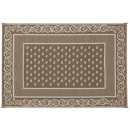 Faulkner Vineyard 8' x 20' Beige Multi-Purpose Mat