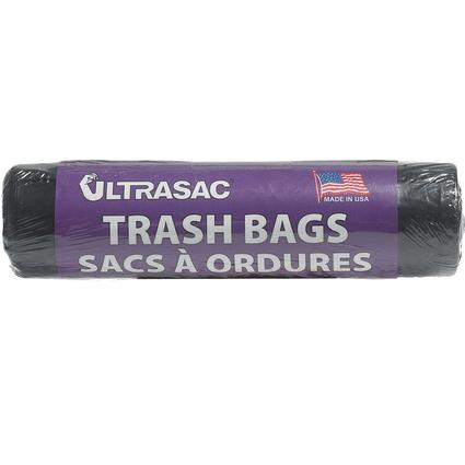 Ultrasac Trash Bags - 33 gallon, 9 bag roll