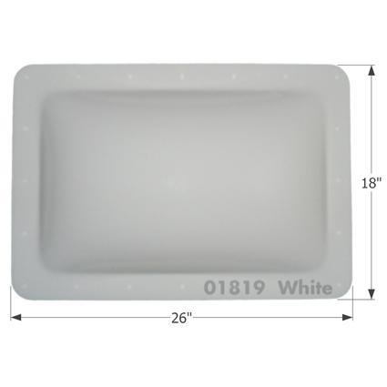 RV Skylight - SL1422W - White