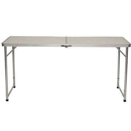 5' Fold 'n Half Aluminum Table