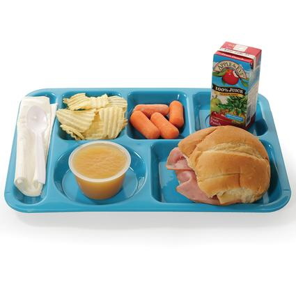 Cafeteria Tray - Blue