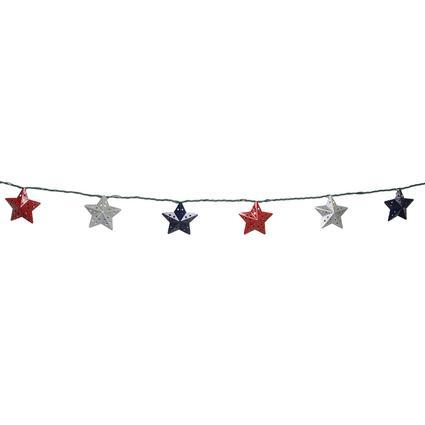 Patriotic Stars Lights