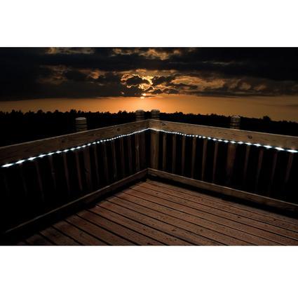White LED Solar Rope Lights