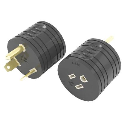 15 Amp RV Female to 30 Amp Male Adapter