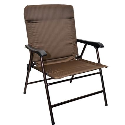 Wide Bronze Chair