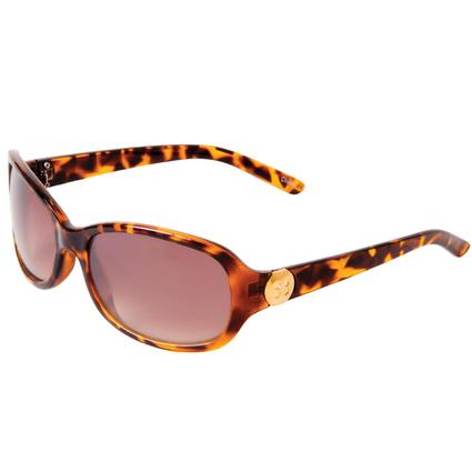 Ladies' Tortoiseshell Sunglasses - Brown/Black