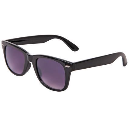 Unisex Sunglasses - Black Frame with Smoke Lenses