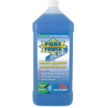 Pure Power Blue Waste Digester and Odor Eliminator - 64 oz.