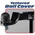 Fastway Tethered Hitch Ball Cover - 2 5/16