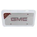 Chrome GMC License Plate