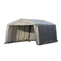 Peak Style Shelter 12 16 8 Gray Cover