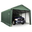 ShelterTUBE Storage Shelter 12 x 25 x 11 Green Cover