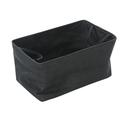 Shallow Storage Tote, Medium - Charcoal