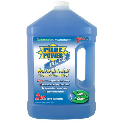 Pure Power Blue Waste Digester and Odor Eliminator - 128 oz.