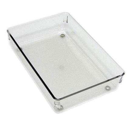 Clear Drawer Organizer with Dividers - 6