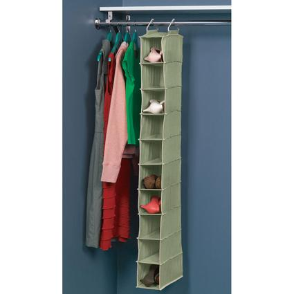 10-Pocket Shoe Organizer