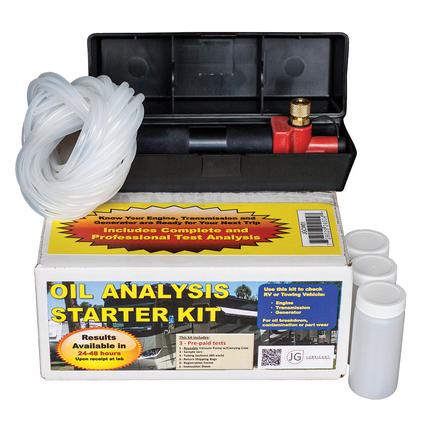 JG Lubricants Oil Analysis Kit